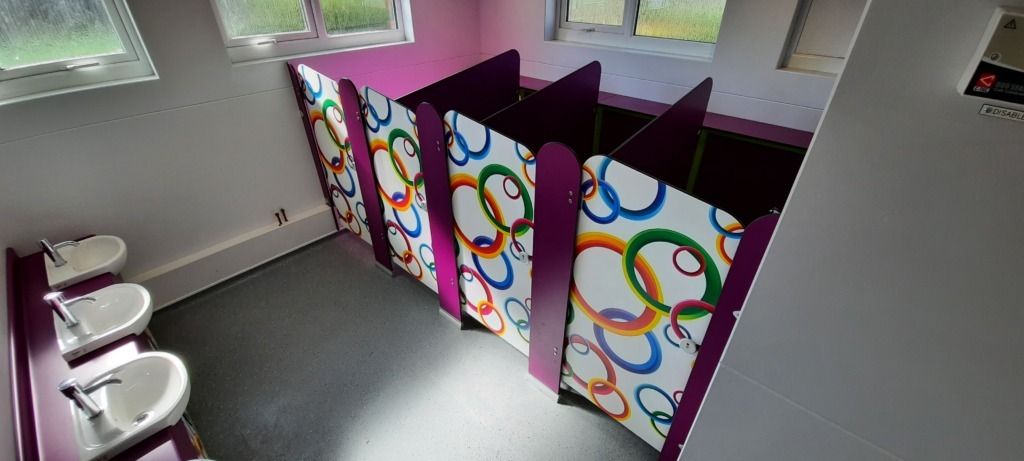 Inscape Interiors washroom for early years