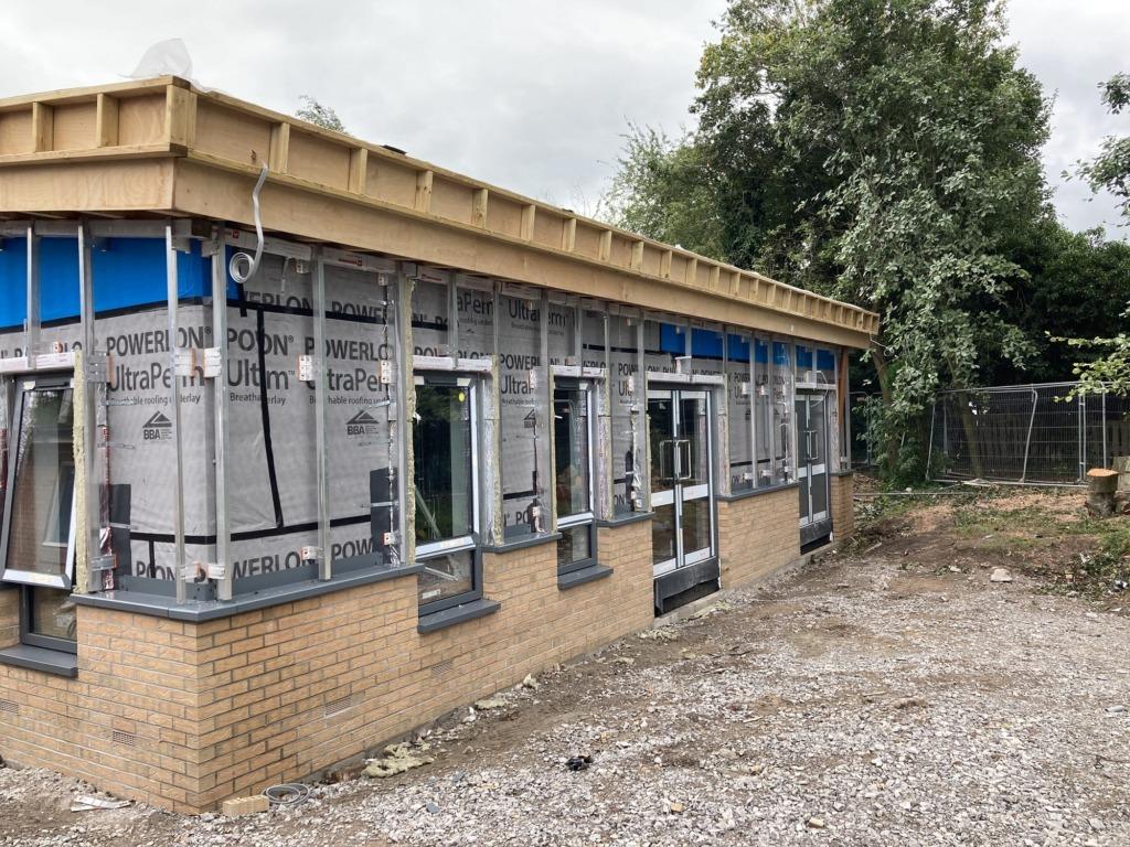 Ysgol Sychdyn Wynne Construction